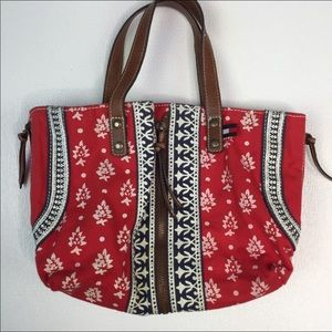 TOMMY HILFIGER Red Fabric Bag